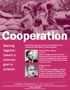 Traits Poster Series: Cooperation