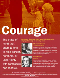 Traits Poster Series: Courage