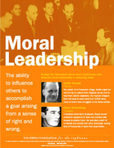 Traits Poster Series: Moral Leadership