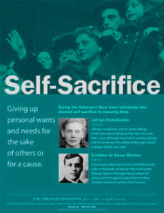 Traits Poster Series: Self-Sacrifice