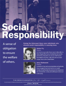 Traits Poster Series: Social Responsibility