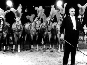 Adolf with Horses