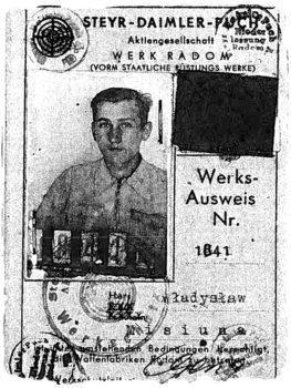 Holocaust Rescuer Wladyslaw Misiuna
